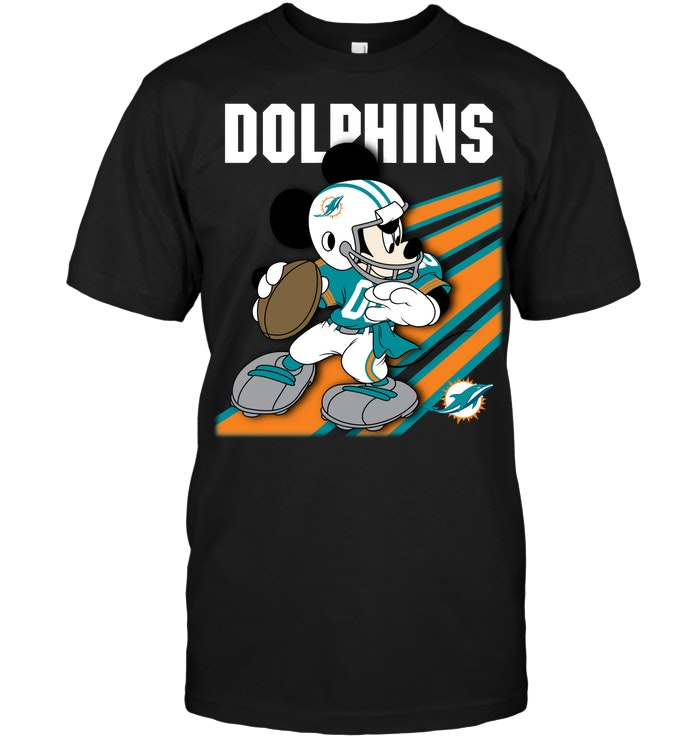 detailed look 35bd3 4522c Miami Dolphins: Mickey Mouse Disney