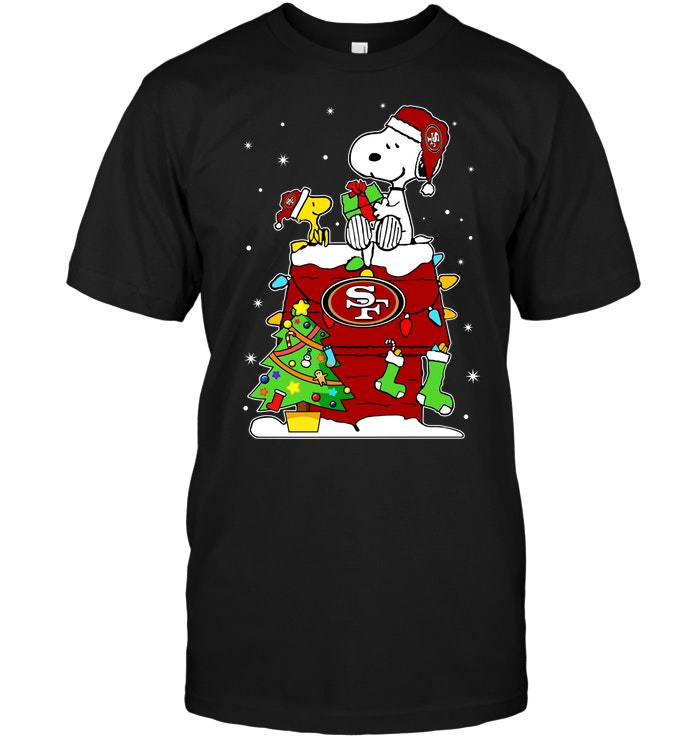 Snoopy And Woodstock Christmas Images.San Francisco 49ers Snoopy Woodstock Christmas