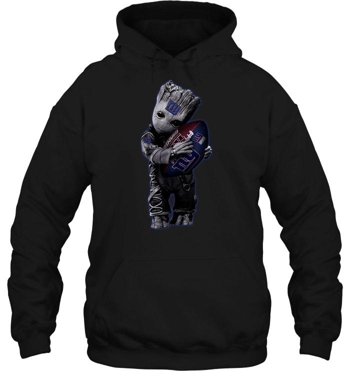 Baby Groot Hug New York Giants Football Nfl T Shirt Buy