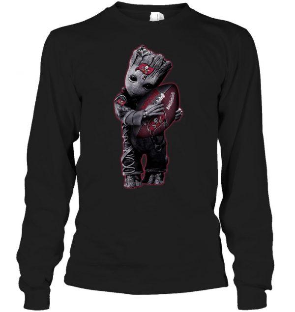 9de1ece6e Baby Groot Hug Tampa Bay Buccaneers Football NFL T-Shirt - Buy T ...