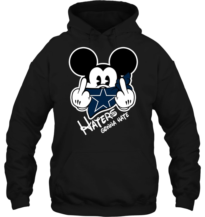 fbef46d79aa ... Mickey Mouse Dallas Cowboys Wallpaper: NFL Dallas Cowboys Haters Gonna  Hate Mickey Mouse T-