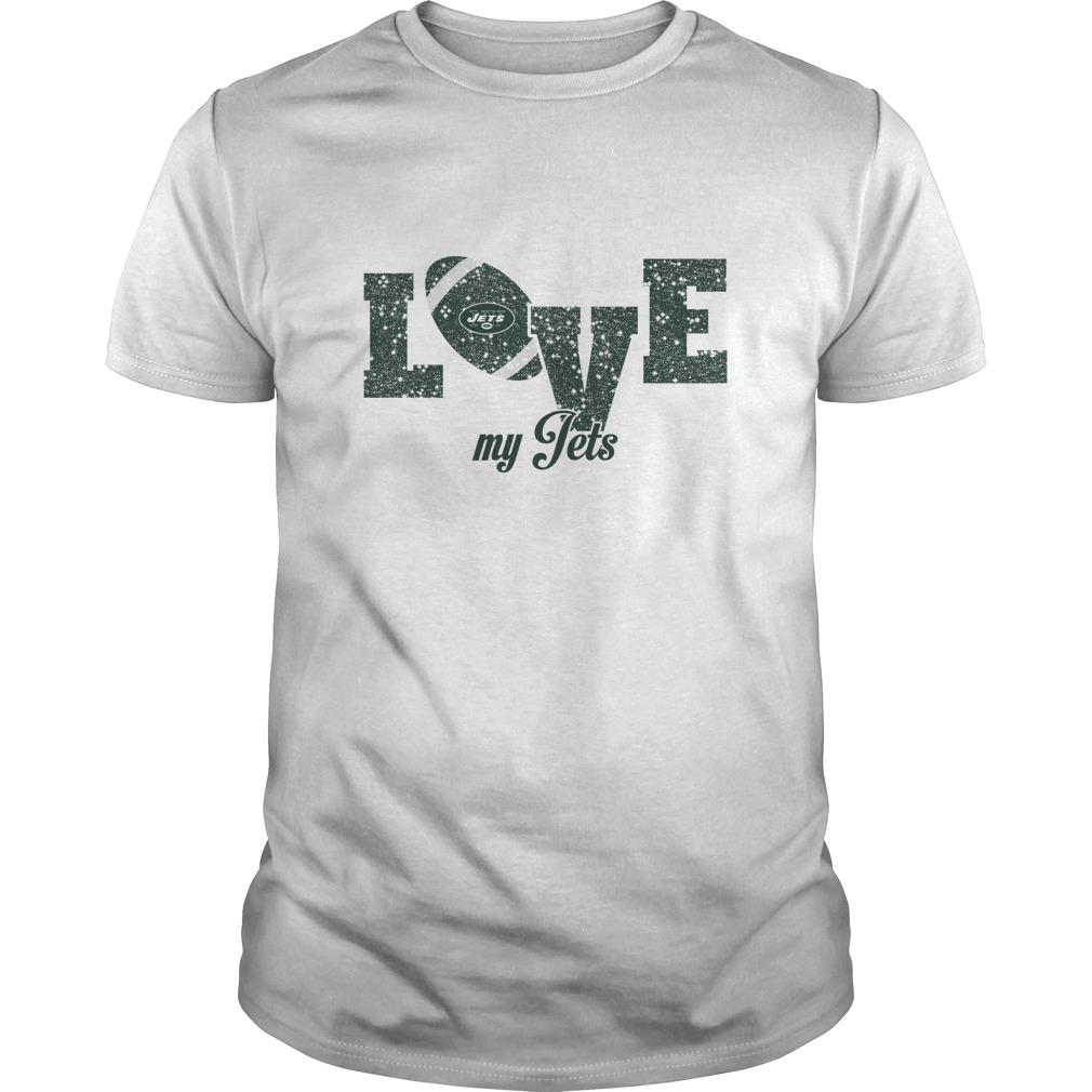 2ed0c19b NFL New York Jets Love My New York Jets Football T-Shirt - Buy T-Shirts |  TeeNaviSport