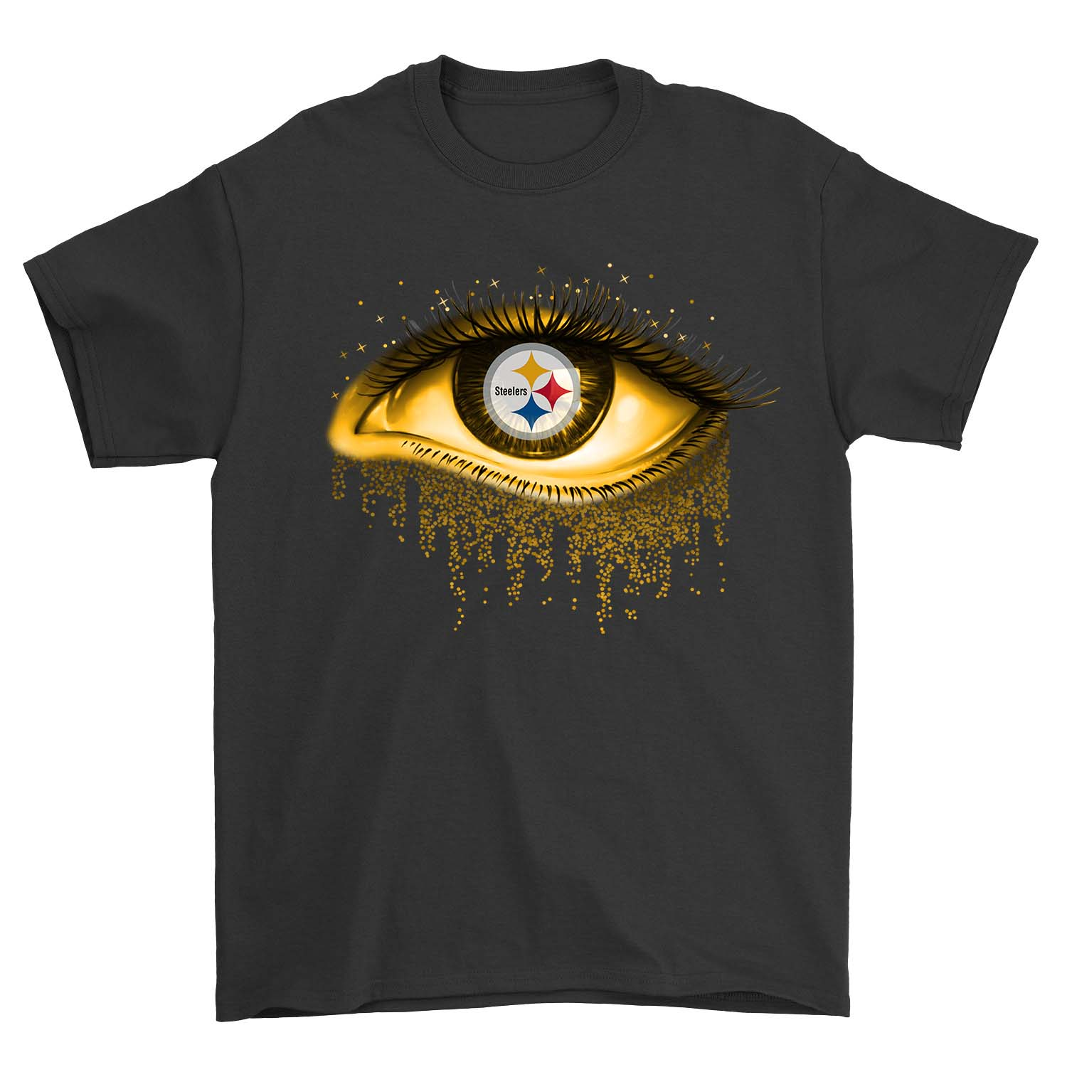 new styles d9b19 fc533 Yellow Eye Pittsburgh Steelers